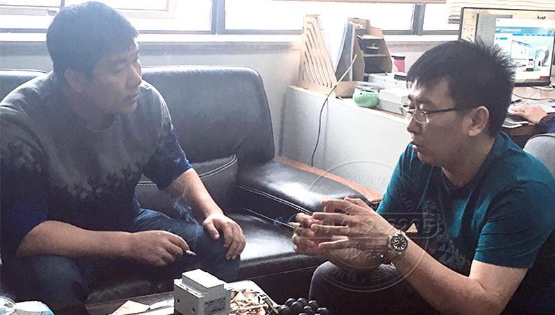天津远程预付费系统代理商来访