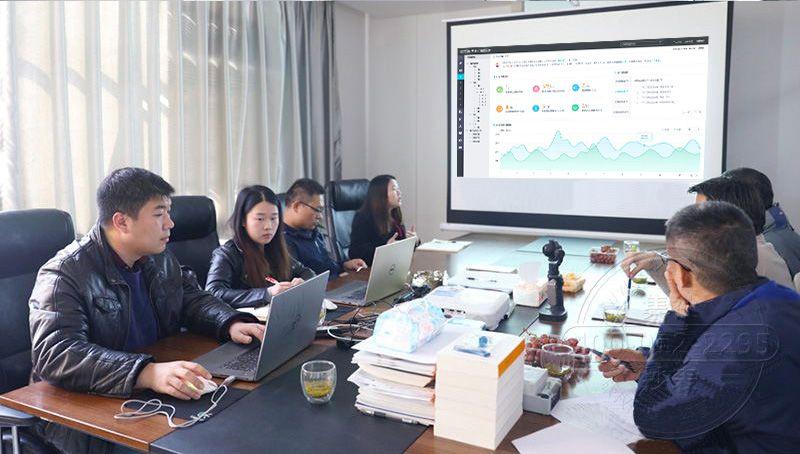 西安远程抄表预付费系统客户来访