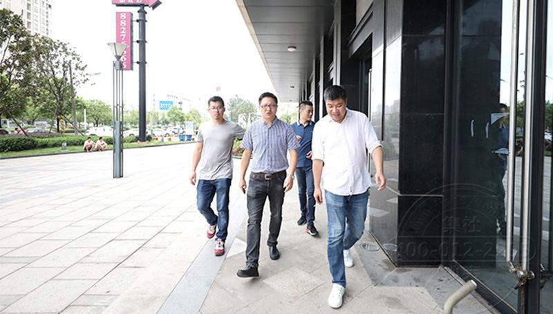 杭州炬华水电表厂高层领导来访