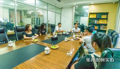 长沙市水电工程师协会客户来访